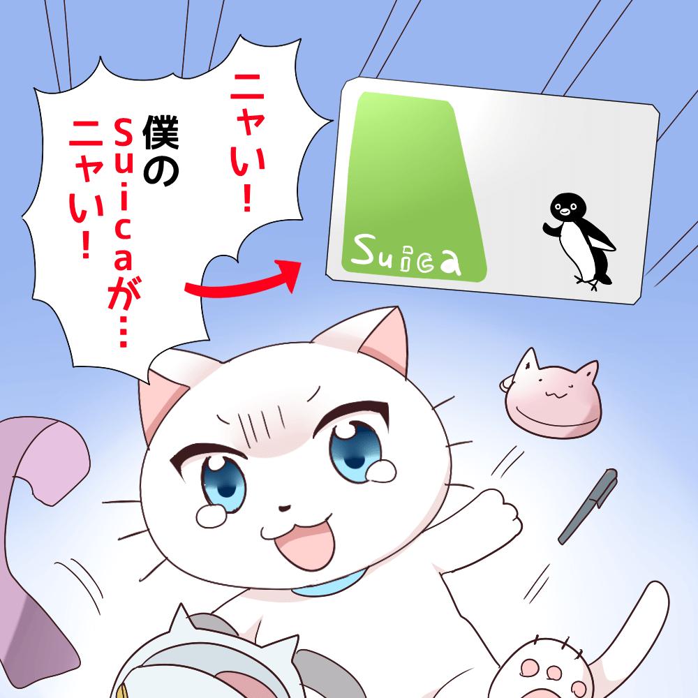 Suica 紛失 再発行