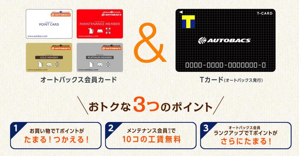 オートバックスカードとTカードの連携