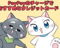 PayPayのチャージでおすすめなクレジットカード!