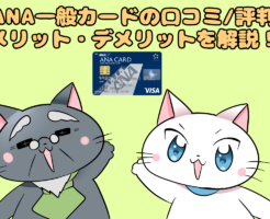 ANA一般カードの口コミ/評判 メリット・デメリットを解説!