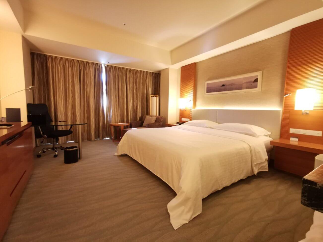 シェラトンホテル宿泊